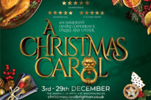 A Christmas.A Christmas Carol Brighton The Immersive Dining Experience