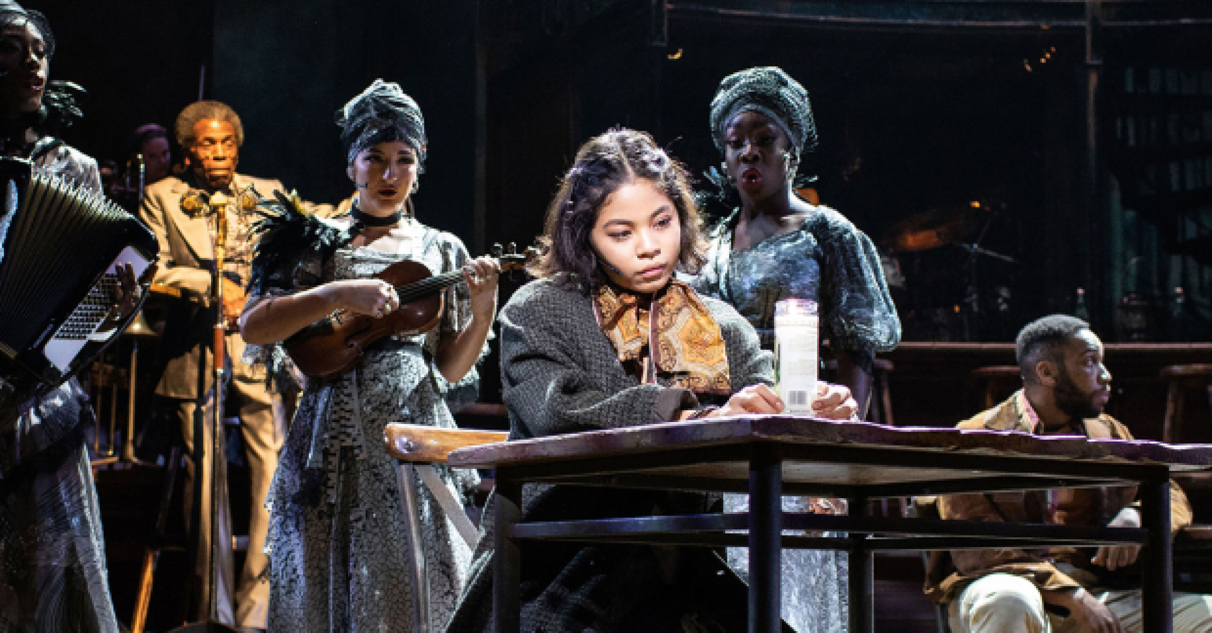 Review Hadestown National Theatre Whatsonstage