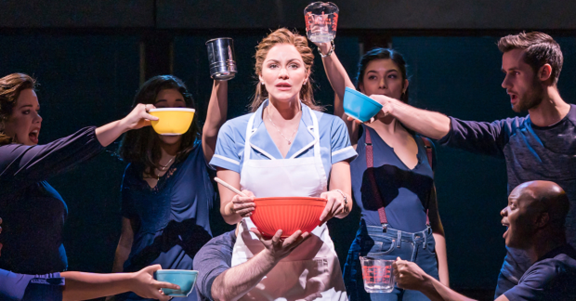 Review Waitress Adelphi Theatre Whatsonstage
