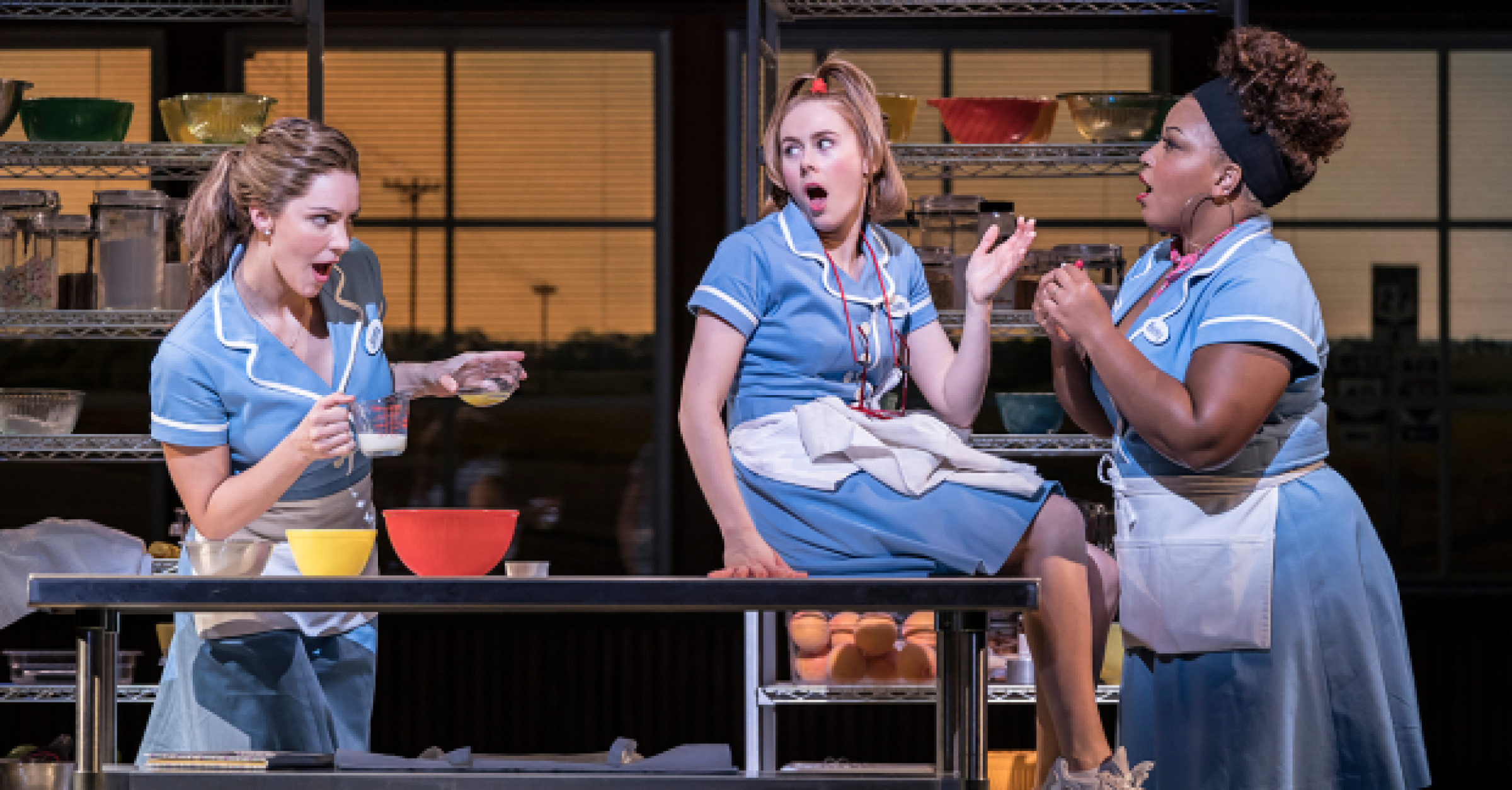 Did Critics Think Waitress In The West End Was A Recipe For Success Whatsonstage