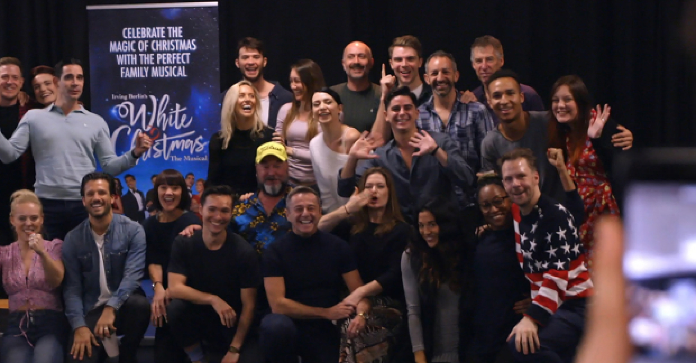 White Christmas Musical.White Christmas In The West End Watch As The Cast Begin