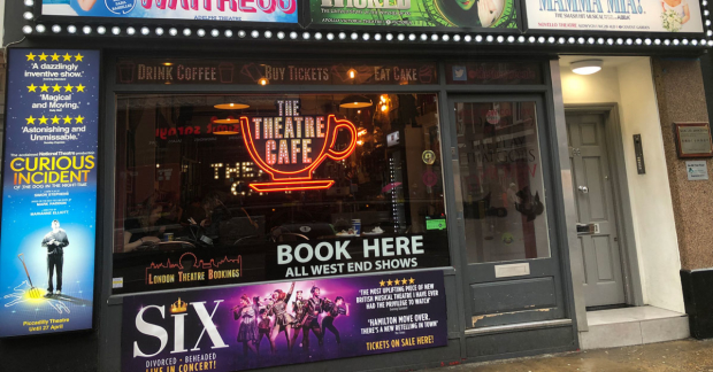 Brand New Theatre Café To Open On St Martins Lane In London