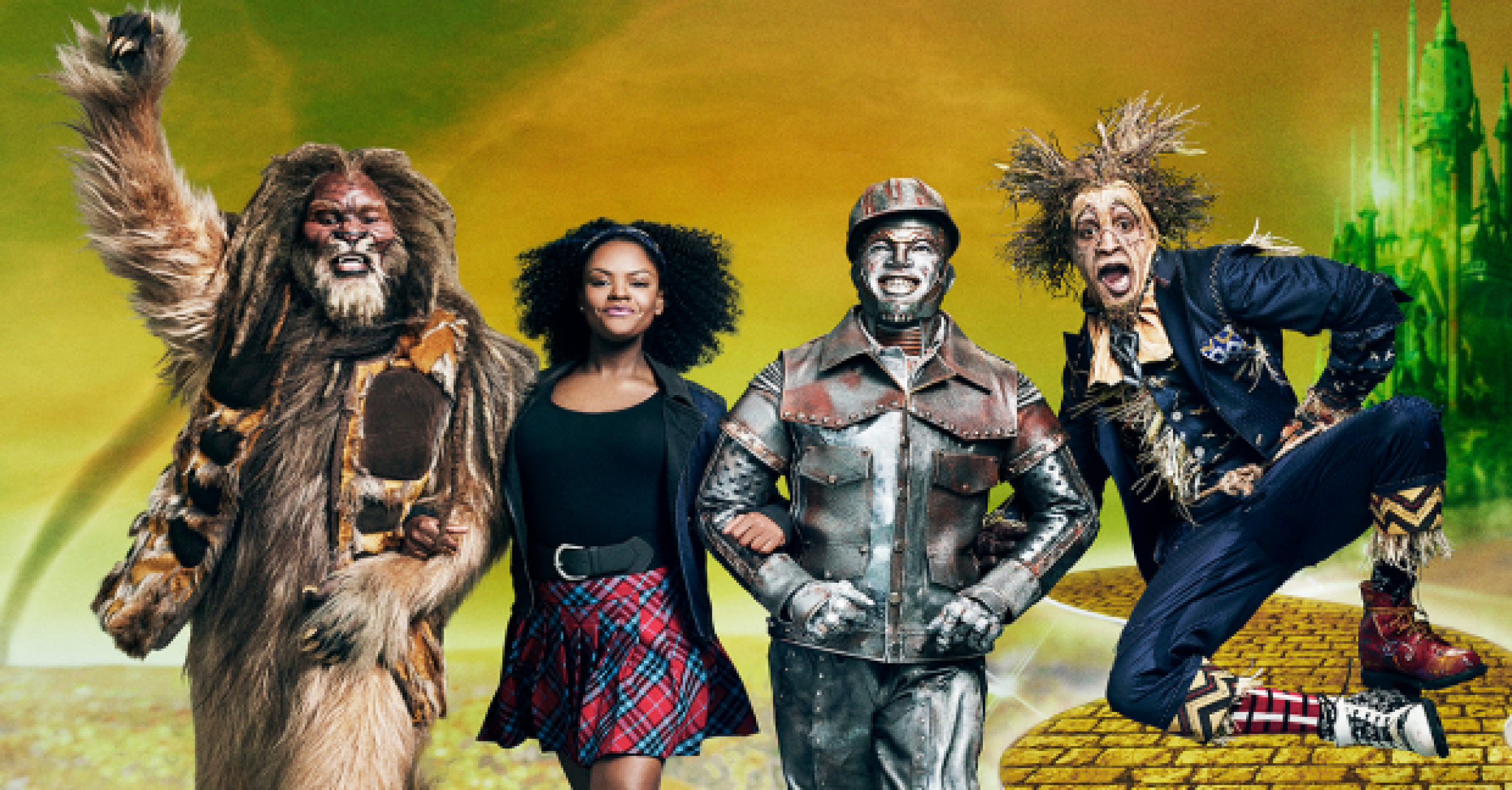 All-star The Wiz with Queen Latifah, Mary J Blige and Amber Riley ...