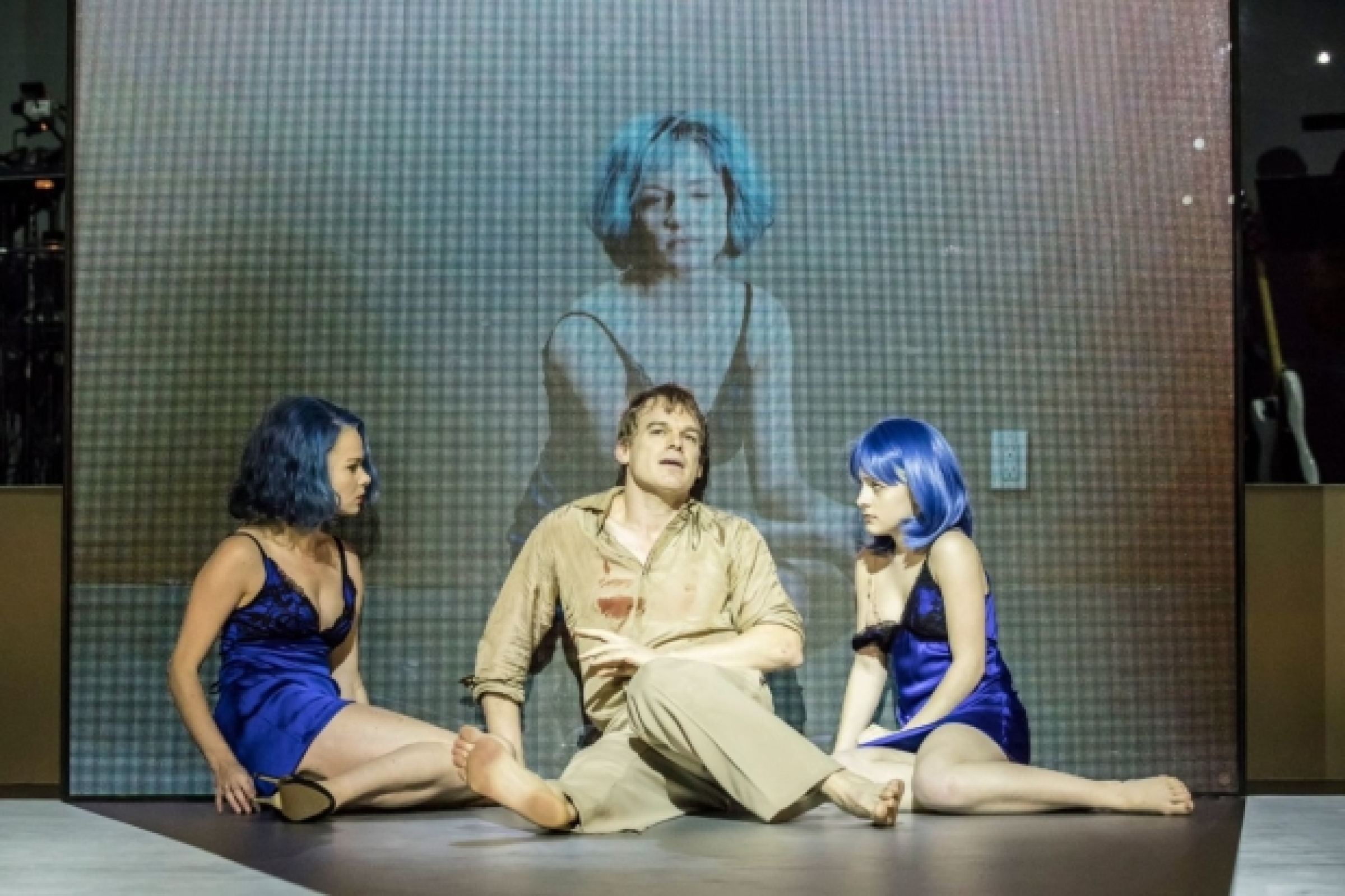 First Look At Michael C Hall Amy Lennox And The Cast Of Lazarus