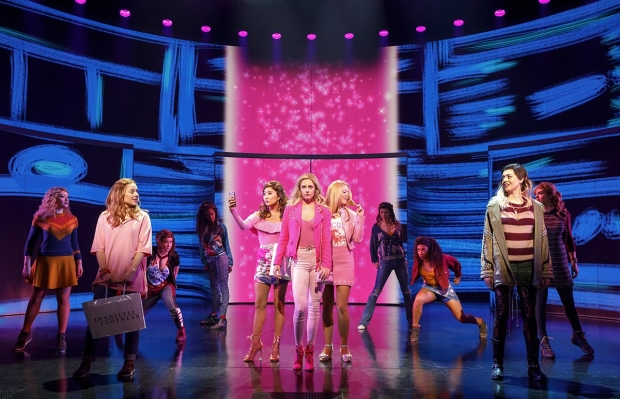 The Cast Of Mean Girls On Broadway
