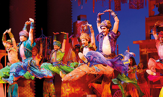 The West End Production Of Aladdin