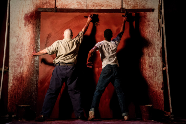 Competition Win The Canvas Created Onstage By Alfred Molina And