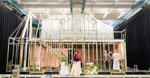 In rehearsals for The Turn of the Screw at Regent's Park
