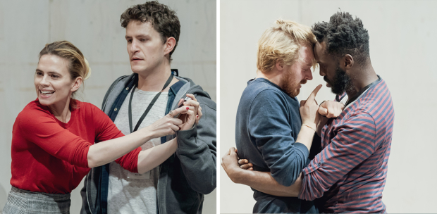Hayley Atwell And Jack Lowden In Rehearsals For Measure For Measure