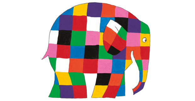 image regarding Elmer the Elephant Printable referred to as Elmer the Patchwork Elephant 30th anniversary excursion toward be