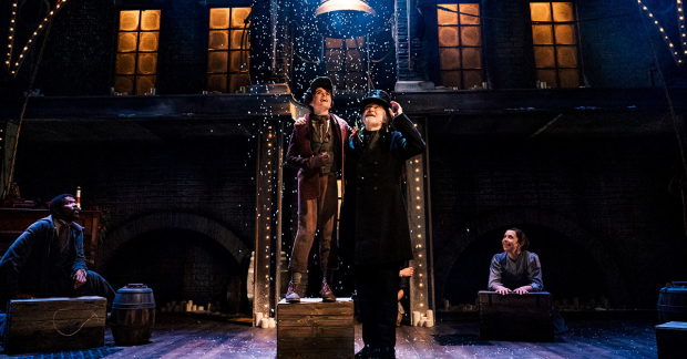 How Long Is The Christmas Carol Play.Review A Christmas Carol Leeds Playhouse Whatsonstage