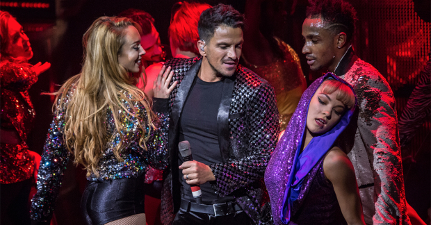 Peter Andre in Thriller Live