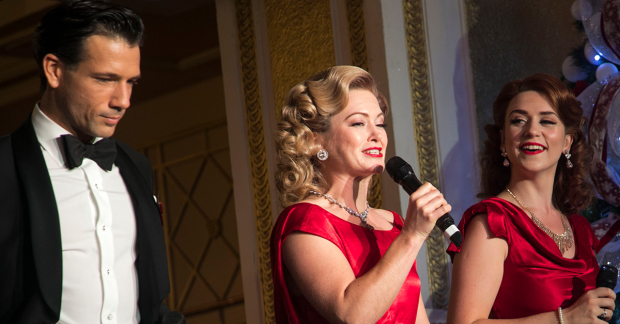 White Christmas in the West End: watch