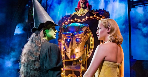 Laura Pick and Helen Woolf in Wicked