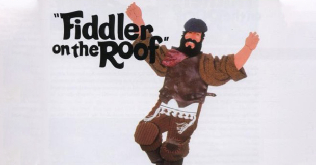Fiddler on the Roof 30th anniversary cover