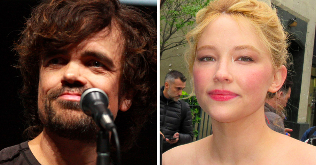 Peter Dinklage and Haley Bennett