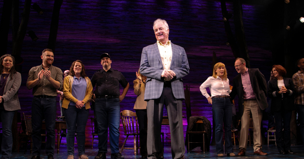 The West End Come From Away cast