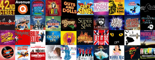 We Want To Know Just How Stagey You Really Are Select The Shows That You Have Seen And Let Us Know Your Results